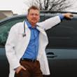 Dr. Hastings & His minivan